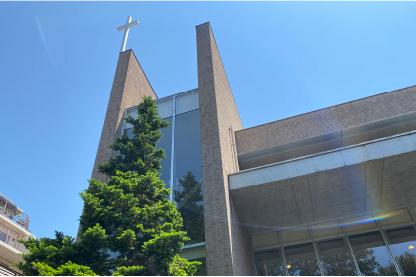聖ヶ丘教会の礼拝
